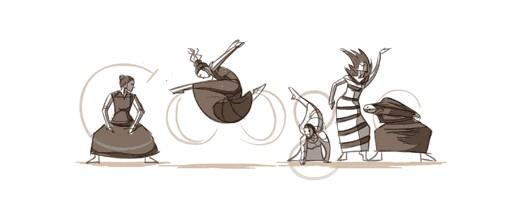 Google 2011年玛莎·葛兰姆 117 周年诞辰